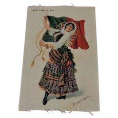 Vintage Nebo Cigarette Silk  Portugal,  3 x5
