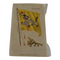 Vintage Nebo Cigarette Silk China No. 21, 3 x5