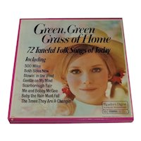 6 Album Box Set Green, Green Grass of Home 1972 Tested
