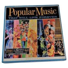 10 Album Vintage Vinyl Box Set Popular Music Tested