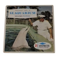 Vintage View-Master Reels Seaquarium Packet No. 2