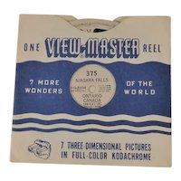 Vintage View-Master Reel Niagara Falls, Ontario Canada