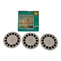 Set of 3 Seaquarium, Miami View-Master Reels