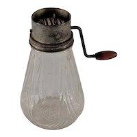 Vintage Spice/Nut Grinder Glass Base No Lid