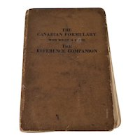 Canadian Formulary Reference Companion 1933