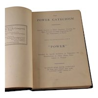 The Power Catechism 1906 Steam Engineering