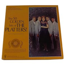 The Platters 50 Golden Hits  4 Album Box Set Tested
