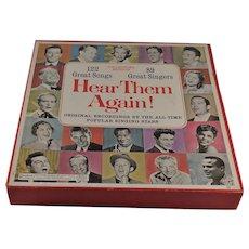 Hear Them Again 10 Album Box Set 122 Songs Tested
