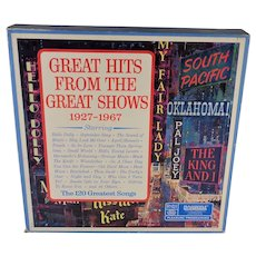 Great Hits From The Great Shows 10 Album Set Tested