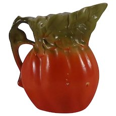 Royal Bayreuth Tomato and Leaf Creamer Unmarked