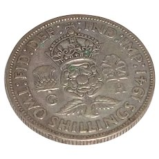 1941 Two Shilling Circulated