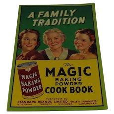 Vintage Magic Baking Powder Cook Book