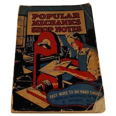 1936 Popular Mechanics Shop Notes 793 Illustrations