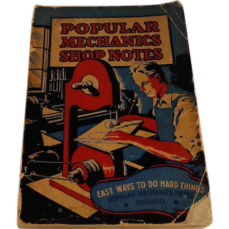 1936 Popular Mechanics Shop Notes 793 Illustrations
