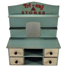 Vintage Made in England Tri-ang Stores 4 Drawer