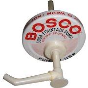 Vintage Bosco Soda Fountain Pump with Original Box