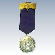 Antique Knights of The Golden Eagle Fraternal Medal