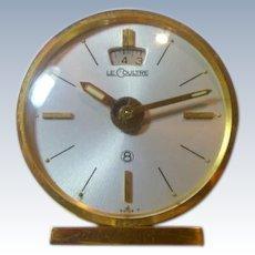 Vintage Lecoutre 8 Day Alarm Clock