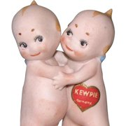 """3 1/4"""" Kewpie Huggers with Stickers Front & Back"""
