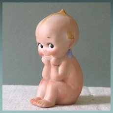 "4 1/4"" Kewpie ""Thinker"" ~ Plump and Rosy!"
