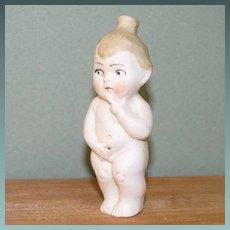 """3 1/4"""" Hertwig Peeing Toddler Boy Looking Perplexed!"""