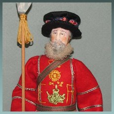 """10"""" Beefeater MINT Liberty of London Doll"""
