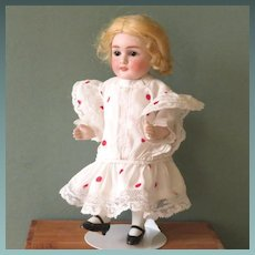 """Very Pretty 7 1/2"""" Early ABG All Bisque Doll"""