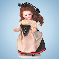 "3 1/2"" Kling '31' BEAUTY!  All Bisque Doll"