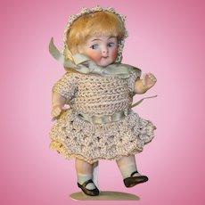 """4 1/4"""" Kestner Googly All Bisque Doll '217 / 11'"""