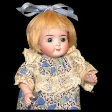 "7""Kestner Googly 217/18 ~ BIG All Bisque Doll!"