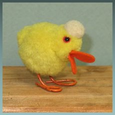 """2 1/2"""" Steiff Wool Pompom Duck ~ Ready for your Easter Basket"""