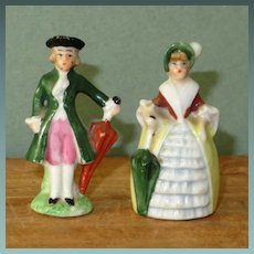 "Pr. 1 3/4"" Hertwig Porcelain Dollhouse Figurines"