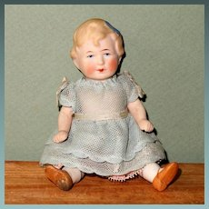 "Darling 5"" Limbach All Bisque Young Girl"