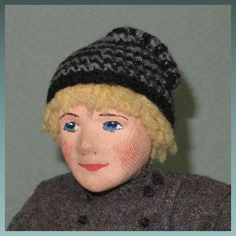 "10"" Ingeborg Nielsen Danish Cloth Doll"