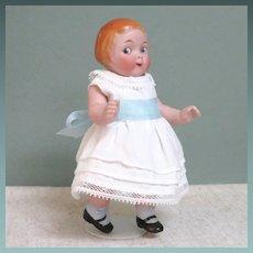"Adorable 5 1/2"" Kestner Googly ~ Campbell Kid Type '179 3/0'"