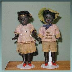 "5 1/4"" Pair Black Gbr. Kuhnlenz '34-13' Factory Original"
