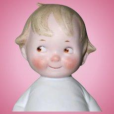 "5 3/4"" Kestner ""Peterkin"" All Bisque Character Doll ~ Adorable!"