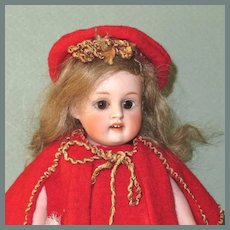"Pretty 8"" Kestner 150 All Bisque Doll ~ Marked 150.3."