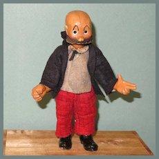 """6 1/2"""" MUTT Bucherer Character Doll~ Metal Ball Jointed"""