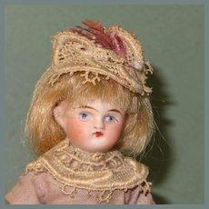 "Sweet 5 1/2"" Dollhouse Girl in Lavender"