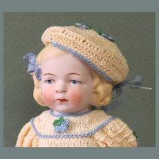 "7"" Hertwig All Bisque - 653/4 -Often called Nancy!"