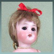 "6"" All Bisque Simon & Halbig 890 Girl ~ Sleep eyes, Fully Jointed"