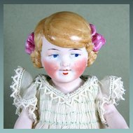 "6 3/8"" All Bisque KESTNER 168 Character Doll with Looped Braids"
