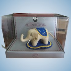 Vintage Steiff Museum Collection Elephant in Original Box