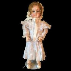 Antique Bisque German Gebruder Kuhnlenz Doll GK 32-27 with Repair