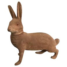 Antique Rabbit Easter Candy Container