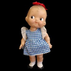 """Vintage Composition Campbell Kid Doll 12"""""""