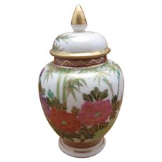 Japanese vase Satsuma shimazu clan meiji Porcelain