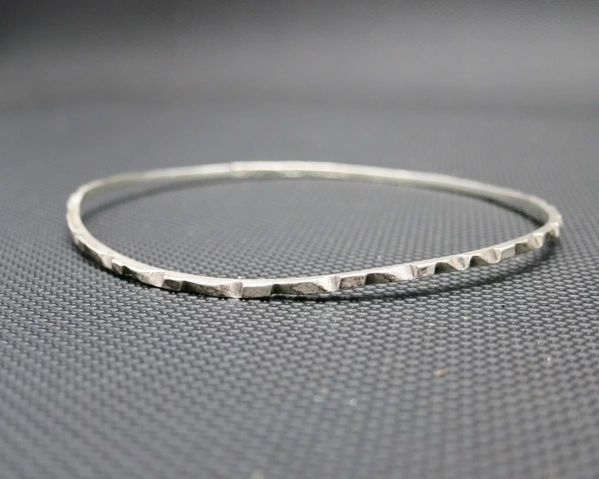 thin skinny open apop products silver bracelets bangles bracelet sterling solid bangle cuff