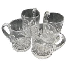 Stuart crystal Mugs Crystal beer England
